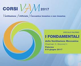 Corso I Fondamentali della Ventilazione Meccanica Palermo - Speciale 2017