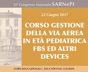 Corso - Gestione Della Via Aerea In Eta