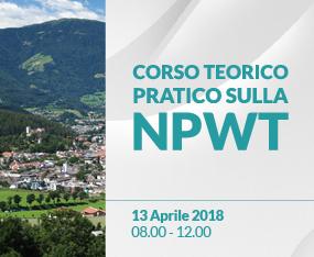 Corso Teorico Pratico - Negative Pressure Wound Therapy