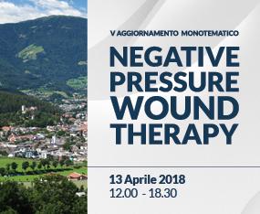 V Aggiornamento Monotematico - Negative Pressure Wound Therapy