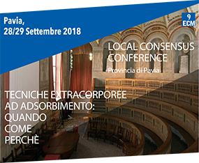 Local Consensus Conference - Tecniche Extracorporee ad Assorbimento: Quando, Come, Perchè