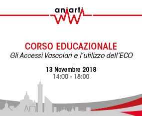 Corso Educazionale -  Gli Accessi Vascolari e Utilizzo ECO