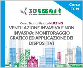 Corso Teorico Pratico Nursing - VENTILAZIONE INVASIVA E NON INVASIVA: MONITORAGGIO GRAFICO ED APPLICAZIONE DEI DISPOSITIVI