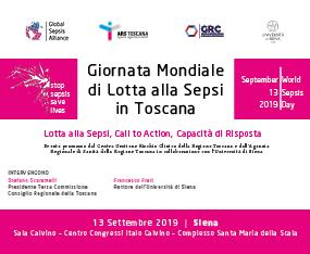 Giornata Mondiale di Lotta alla Sepsi in Toscana (WORLD SEPSIS DAY 2019)