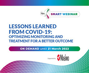 SMART WEBINAR ON DEMAND<br>Lessons Learned from COVID-19: Optimizing Monitoring and Treatment for a Better Outcome