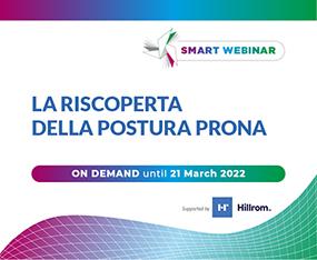 SMART WEBINAR  ON DEMAND<br>La Riscoperta della Postura Prona