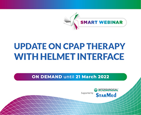 SMART WEBINAR  ON DEMAND<br>Update on CPAP Therapy with Helmet Interface
