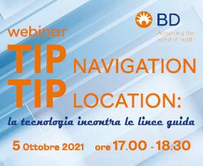 WEBINAR TIP NAVIGATION & TIP LOCATION:<br>la Tecnologia Incontra le Linee Guida